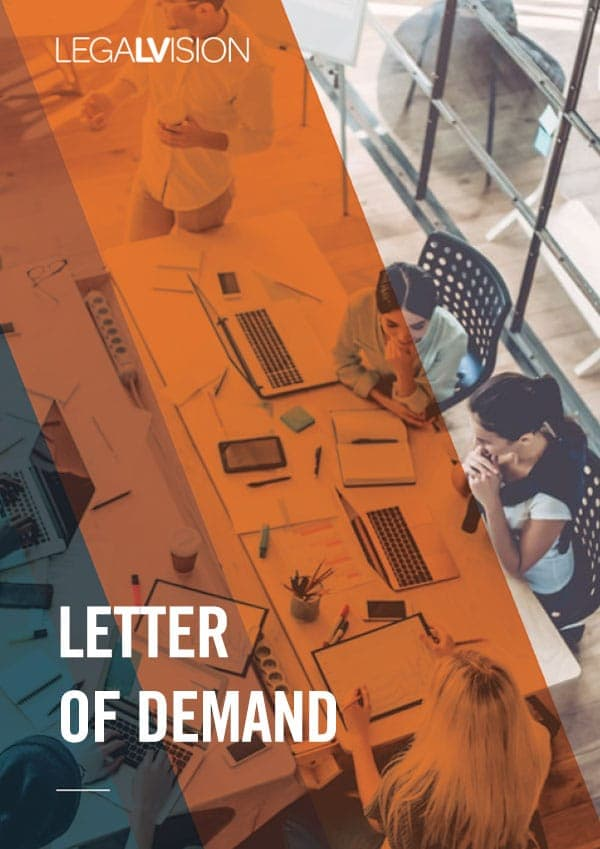 Letter-of-Demand-Template | LegalVision